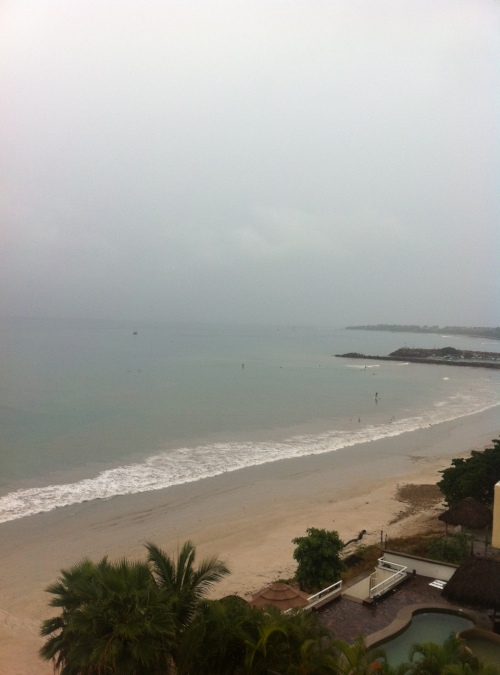 Punta de Mita in the rain!